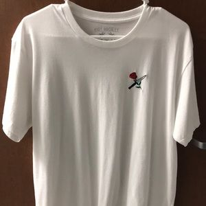 Men's large white T-shirt